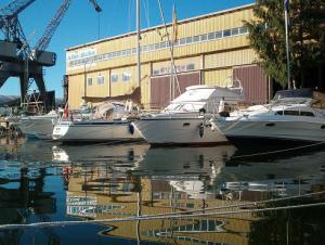 Bild av båtar